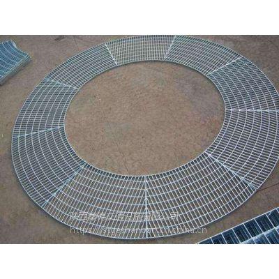 榆林石油设备平台钢格栅板 镀锌盘梯踏步板T3-255/30/100