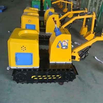 360儿童挖掘机 游乐挖掘机 电动儿童游乐挖掘机