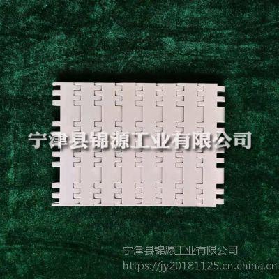 塑料网带咖啡色模块塑料网带重型输送瓦楞纸耐磨型流水线网带
