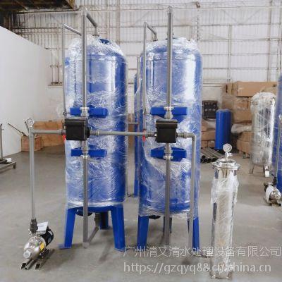 广旗供应中水回用处理过滤设备 多介质碳钢净化水质过滤罐