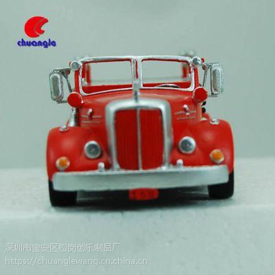 树脂红色小汽车定制 男生生日礼物 欧式仿真车模型