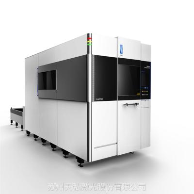 苏州天弘 1000W数控钢板光纤激光切割机 不锈钢金属型材切割机