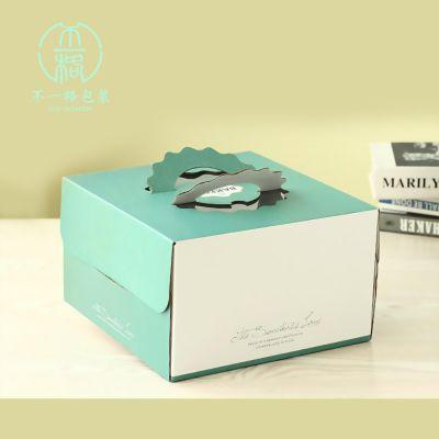 北京昌平区蛋糕盒定制,彩色白卡纸蛋糕盒加工定制
