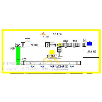 LED灯生产线 路灯节能灯老化线