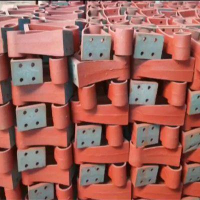 永康市铸钢支架彩色A陆韵护栏支架生产过程