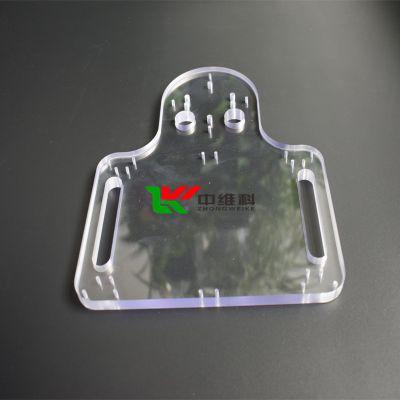 PC厚板精密加工 透明PC厚板倒角 工程用PC厚板