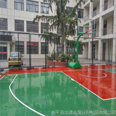 内蒙古球场护栏 室外篮球场围栏高度 篮球场围栏网尺寸