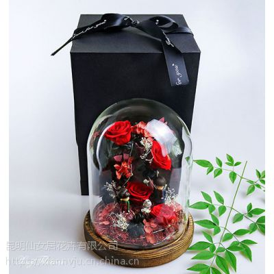 昆明情人节鲜花送老婆选择昆明仙女居花艺