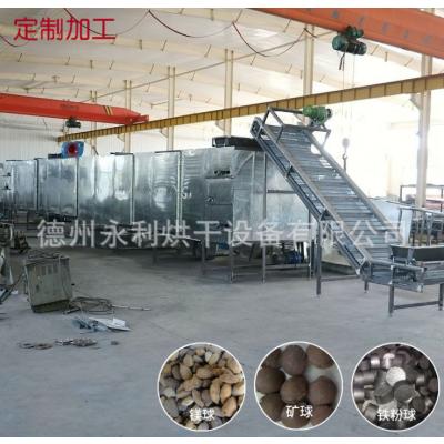 大型带式氧化镁球烘干机 热风式多层矿球烘干机