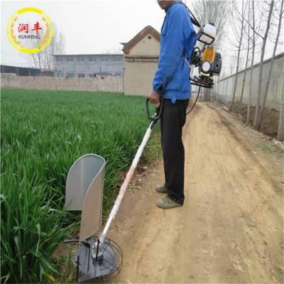 能割小麦水稻小型割草机 润丰 背负式小型除草机价格