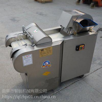 智航果蔬切丁机 冬瓜切丝机切块机 土豆苹果切丁机厂家