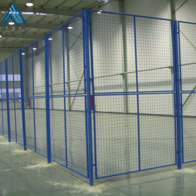 仓储库房隔离网/机械设备防护网