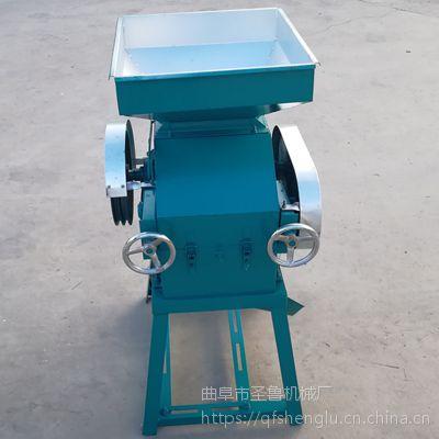 酒坊小型挤扁机 玉米高粱压片机 圣鲁机械