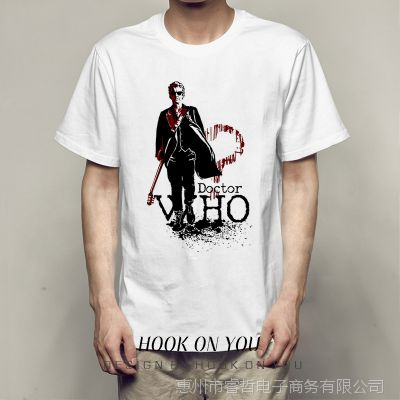 The who TeehiphopUlzzang短袖bf圆领T恤ins风港风约休闲帅气衣服