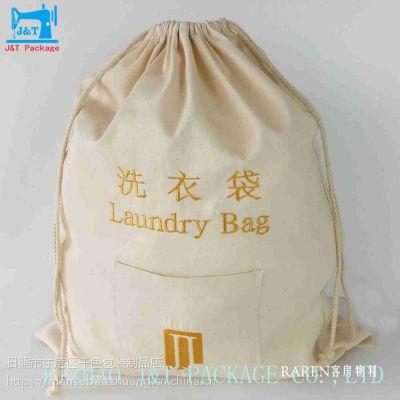 棉布穿绳袋生产厂家,棉布袋穿绳袋加工厂家,穿绳棉布袋生产厂家