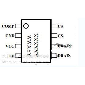 供应嘉泰姆CXLE83111J驱动IC全输入电压带有源功率因数校正高精度非隔离降压型LED恒流控制器
