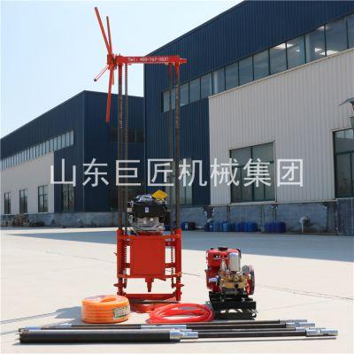 勘察院检测中心一直在用的巨匠QZ2B地质钻探机汽油动力适应性更强效率更高取芯神器