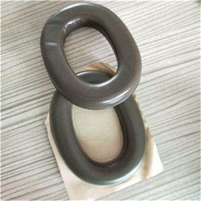 厂家生产隔音降噪耳机皮耳套 热压成型耳机皮套 规格可定制