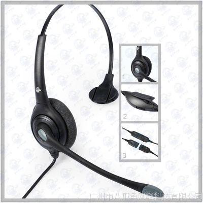 呼叫中心话务耳麦 电话耳麦  电话耳机  耳麦电话机 客服电话耳麦