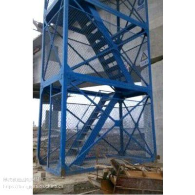 安全梯笼生产厂家安全梯笼价格河北通达优质商家