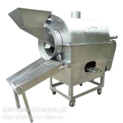 休闲食品专业加工炒货机 炒板栗瓜子机器 榨油专用炒锅