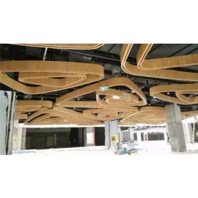 弧形铝方通价格-专业铝板定制-莱芜弧形铝方通