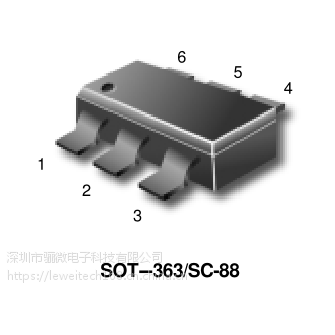 MBT3946DW1T1货源PDF芯片资料MBT3946DW1T双通用SOT-363晶体管
