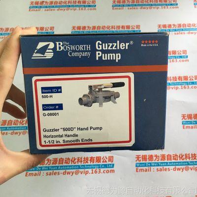 新品美国GUZZLER隔膜手动泵GH-0500D-111-10-8080-00原装