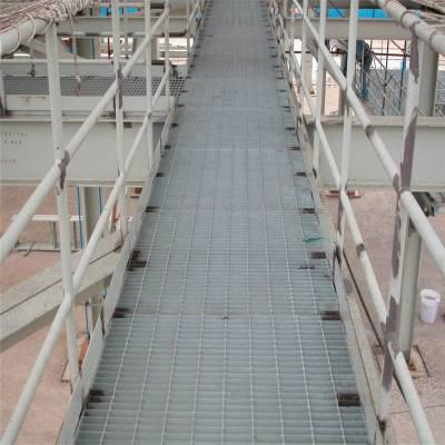热镀锌钢格栅板 楼梯踏步隔离栅 特殊规格钢格板