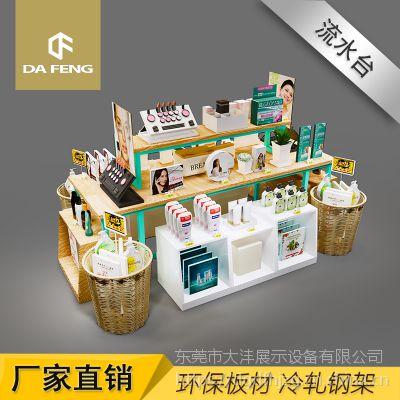 东莞化妆品货架多功能化妆品展示台彩妆护肤展示架置物架批发