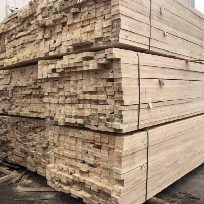 忻州松木木方批发 工地支模 木方批发市场 木材批发市场 就找津大木业