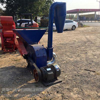 青储玉米杆粉碎机 干湿花生秧碎草机 加工牛羊驴草料打草机