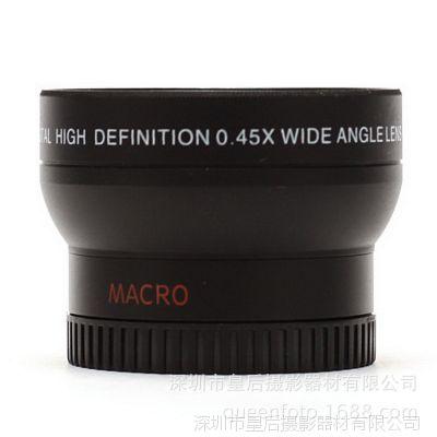 37mm手机0.45X广角微距49mmUV 高清单反镜头 光学镜头0.45x