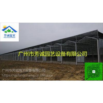 玻璃连栋温室,生态温室大棚,设计施工安装建设厂家
