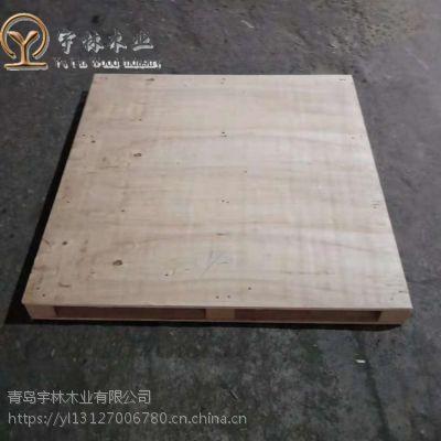 胶南免熏蒸托盘工厂定做胶合板木卡板图片高温高压环保材质