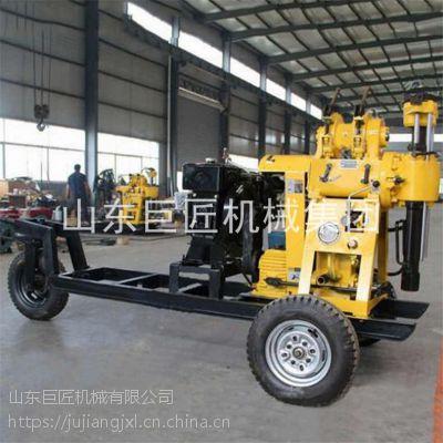200米轮式钻井机XYX-200液压水井钻机移动方便效率高