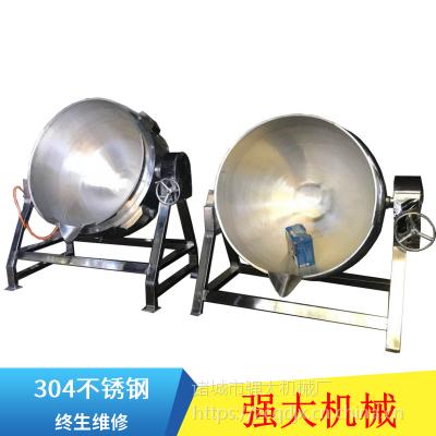 全自动辣椒酱炒锅 电磁行星搅拌夹层锅 食品机械