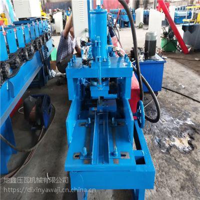 角钢设备直销厂家地鑫压瓦机彩钢瓦设备