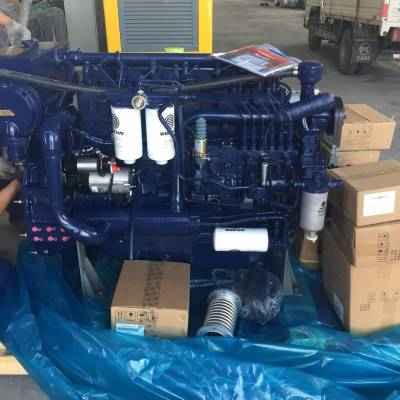 潍柴动力WP6C165-18船用柴油机 122KW涡轮增压165马力船用发动机