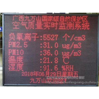 广西旅游度假景区负氧离子在线监测系统-碧如蓝