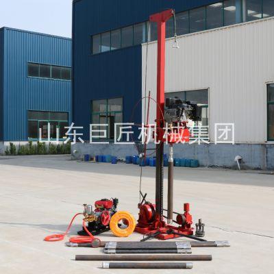 华夏巨匠QZ-3工程地质钻机上山可拆解的50米取样钻机