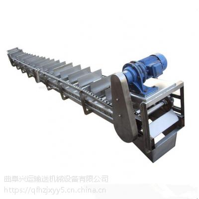 化肥刮板输送机规格知名 粮食输送机
