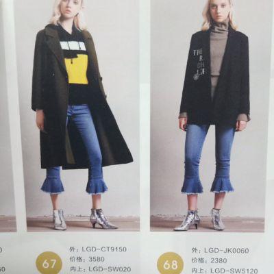 赫斯特商场专柜女装品牌折扣库存加盟尾单外贸批发