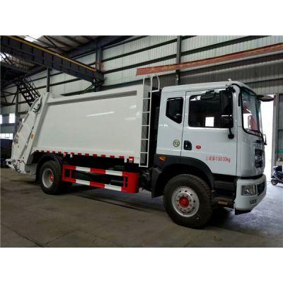 东风10吨压缩垃圾车厂家,车厢可卸式垃圾车图片