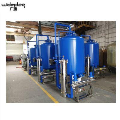 农村饮用水工程过滤器 水库水石英砂活性炭过滤设备厂家 清又清