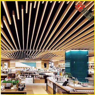 供应墙面铝方通大量现货橡胶空调罩铝单板点支式拉网铝单板
