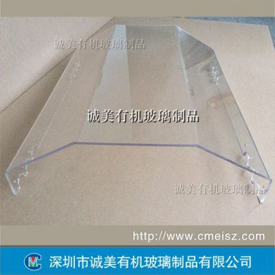 多边折弯设备亚克力罩 异形热弯机床有机玻璃护盖 深圳机罩
