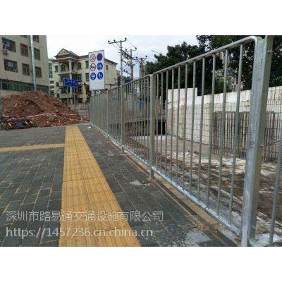 深圳标准护栏深标围栏马路护栏厂家定做