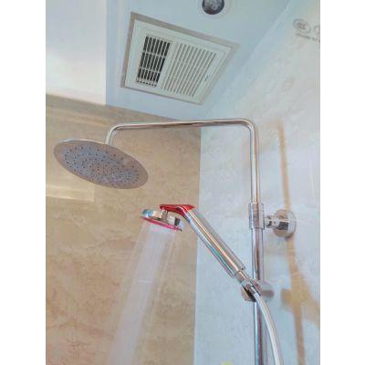 柔柔的矿泉花洒,炎热的夏天给你的肌肤洗个矿泉澡。