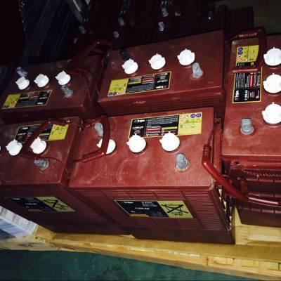 美国原装Trojan邱健蓄电池J305H-AC进口牵引电瓶6V360AH叉车专用